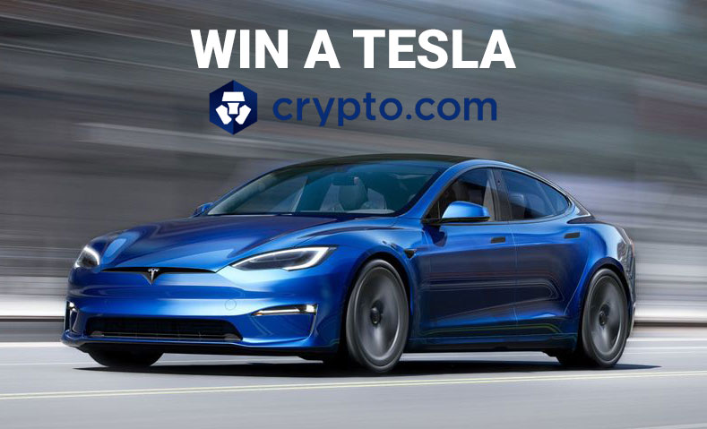Try to win a Tesla with Crypto.com